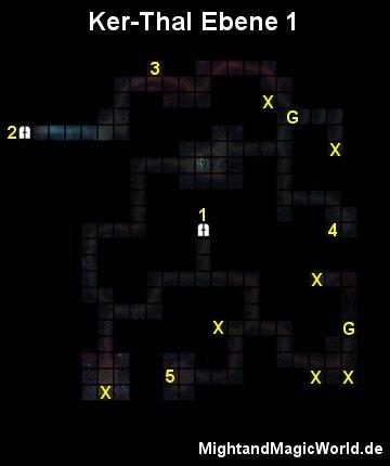 Map der 1. Ebene des Ker-Thal