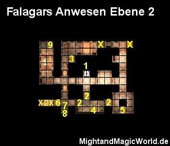 Map Falagars Anwesen Ebene 2