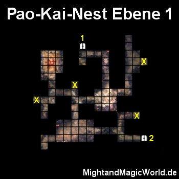 Map Pao Kai Nest Ebene 1