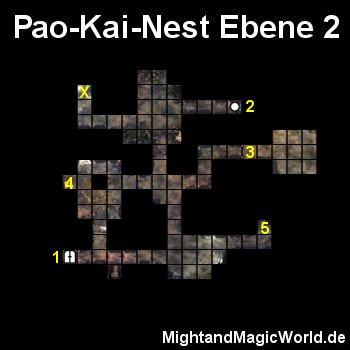 Map Pao Kai Nest Ebene 2