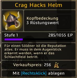 Crack Hacks Helm Level 1