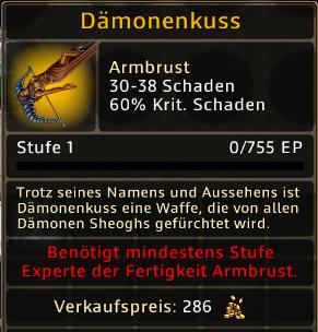 Daemonenkuss Level 1