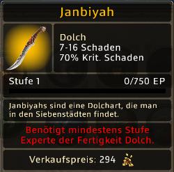 Janbiyah Level 1