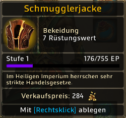Schmugglerjacke Level 1