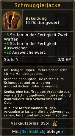 Schmugglerjacke Level 4