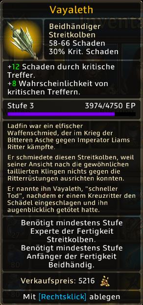 Vayaleth Level 3