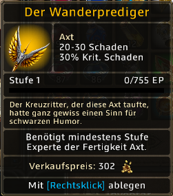 Wanderprediger Level 1