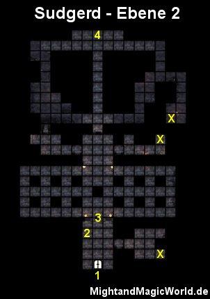Map der 2. Ebene des Sudgerd