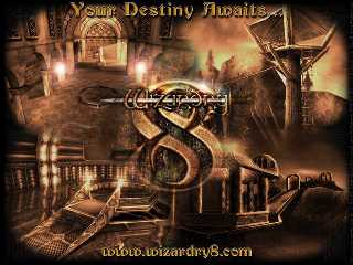 Offizielles Wizardry 8 Wallpaper